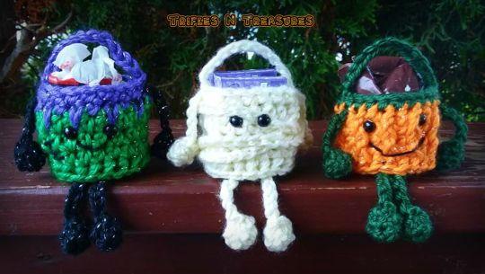 Mini Monster Baskets
