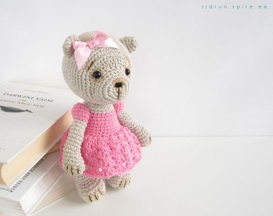 Teddy Bear in a Dress