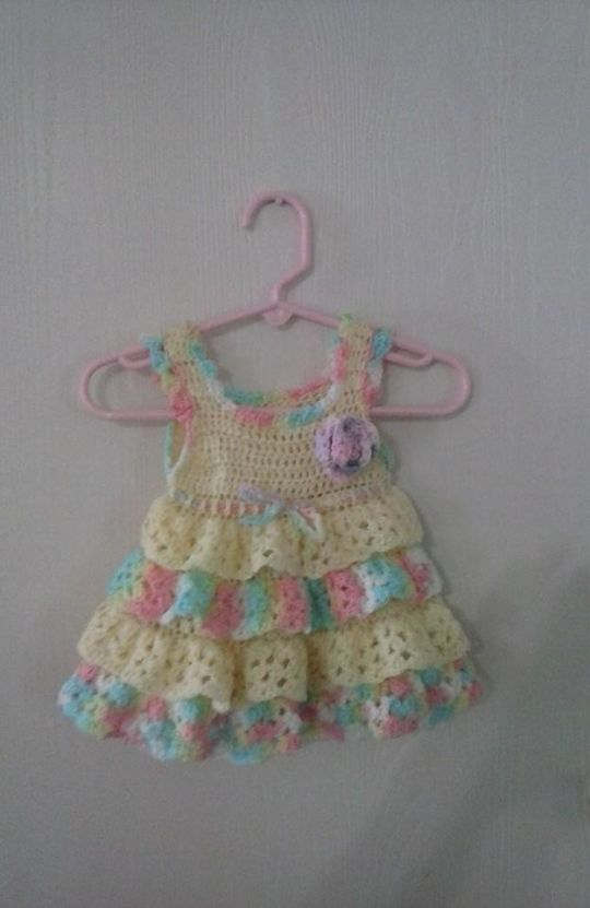 Ruffled Baby sundress