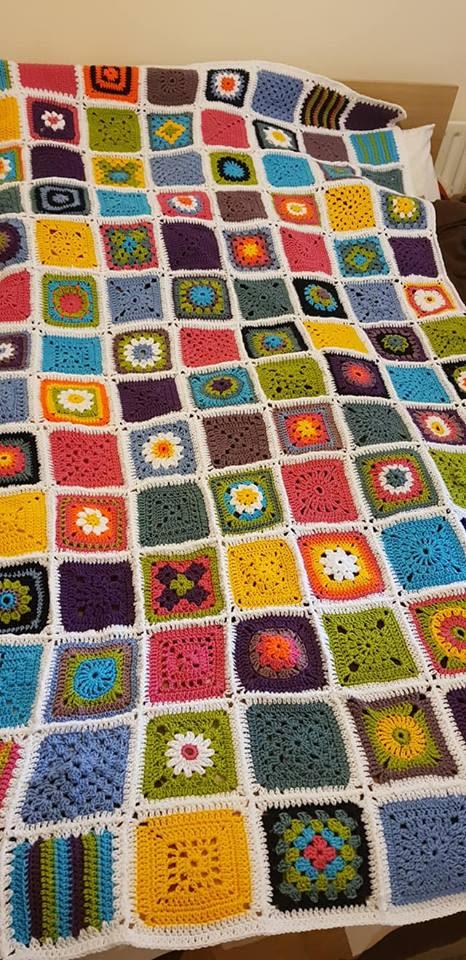 The Art of Crochet Throw