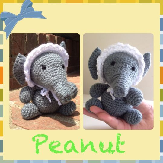 Peanut the baby elephant