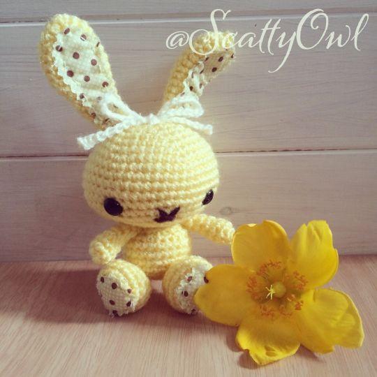 Sunshine spring bunny