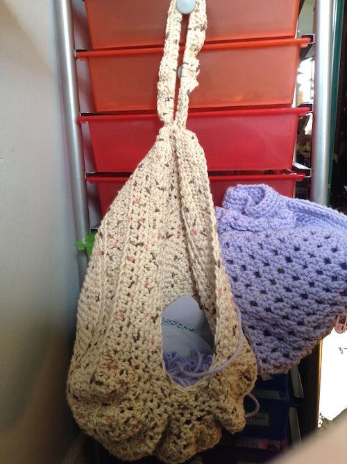 Crocheting Bag