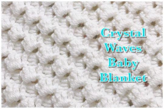 Crystal Waves Crochet Stitch