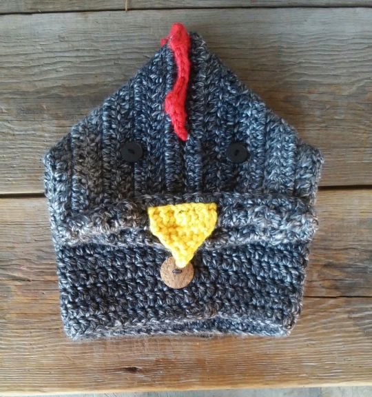 chicken hooded cowl