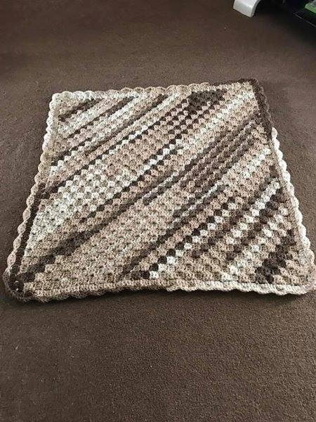Newborn Swaddle C2C Blanket