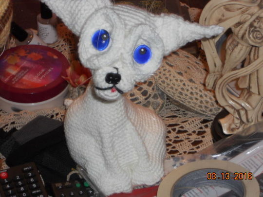 Crazy Cat - Crochet creation by Charlotte Huffman ...