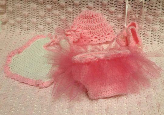 Newborn Ballet Outfit