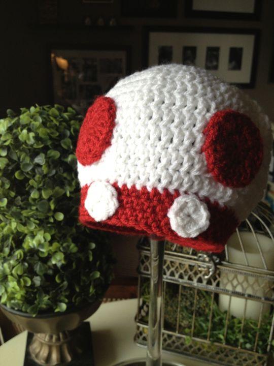 Toad Mushroom Hat