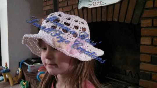 Sweet hat for my daughter