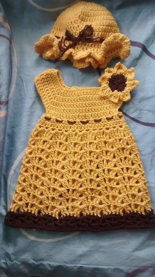 Sunflower Dress -Toddler Dress