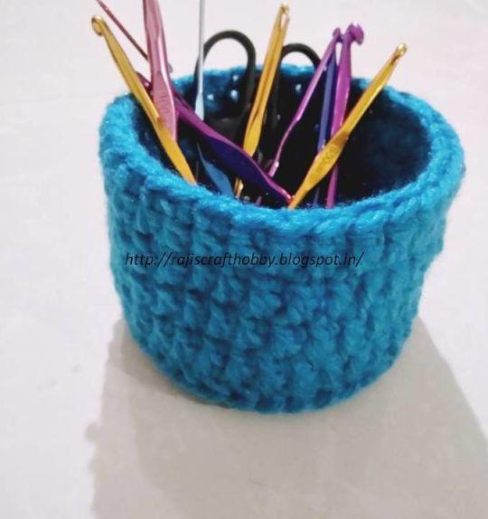 Crochet Utility Mini Basket
