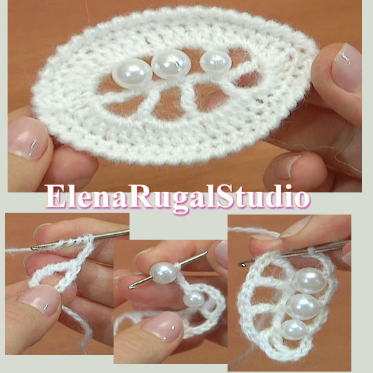 Crochet Easy Oval Leaf