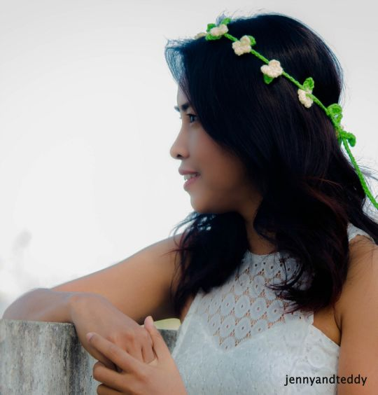 boho chic flower hairband
