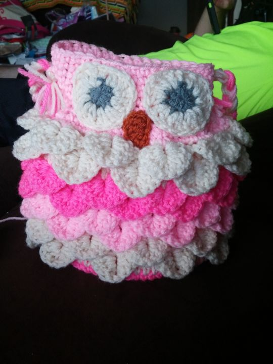 Crocodile Stich Owl Purse Crochet Creation By Down Home Crochet