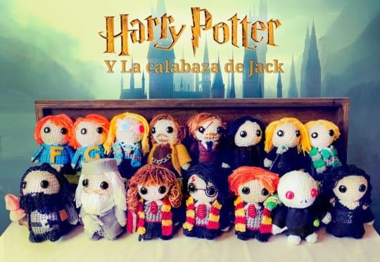 Harry Potter Amigurumi - La Calabaza de Jack