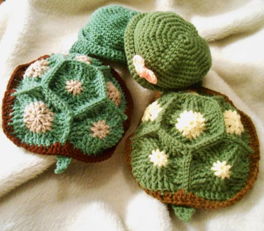 Free Crochet Pattern Turtle Photo Prop : Baby Turtle Photo Props - Crochet creation by CharleeAnn ...