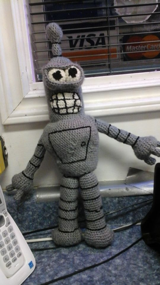 Bender the robot