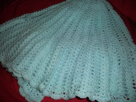 mint shawl