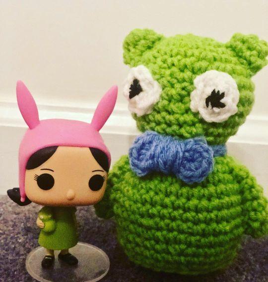 Handmade Crochet Kuchi Kopi Inspired Amigurumi