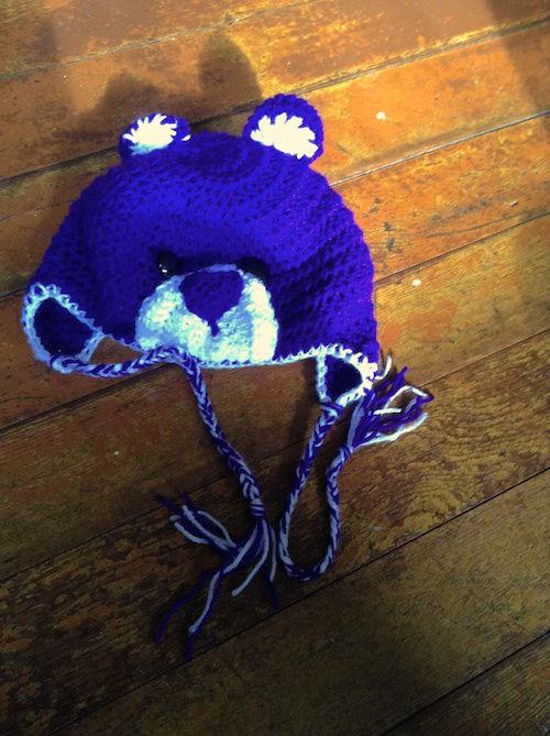 Hat Pattern: Go Bears!! (2)