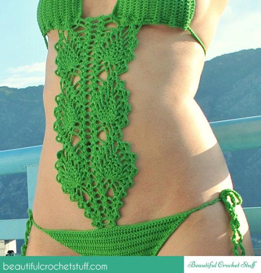 Crochet Swimsuit Free Pattern