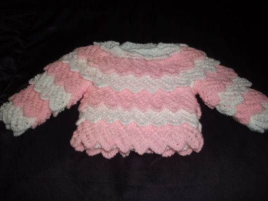 frilled jumper