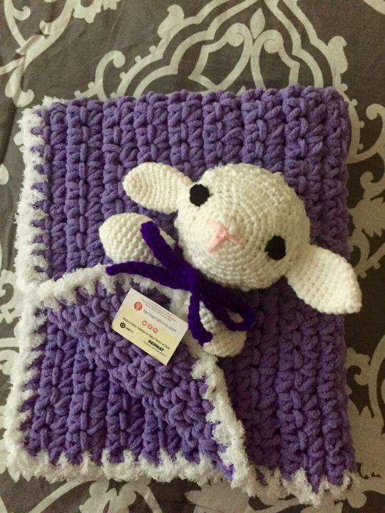 Lamb Security Blanket