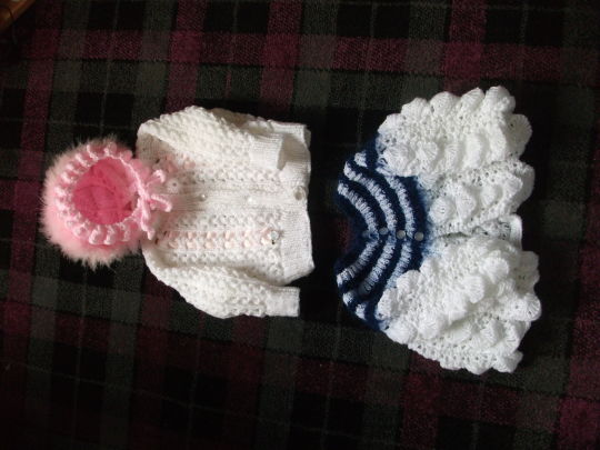 finished knitting and crochet