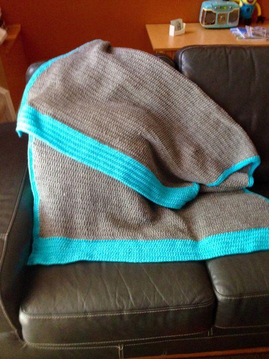 Tunisian Blanket