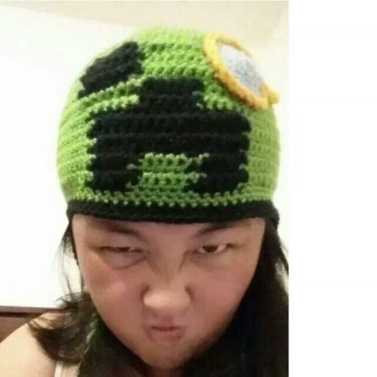 Special Minecraft beanie
