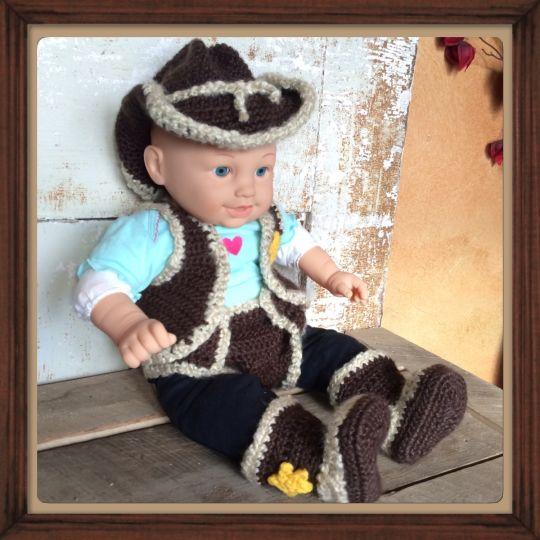 Newborn Cowboy Outfit