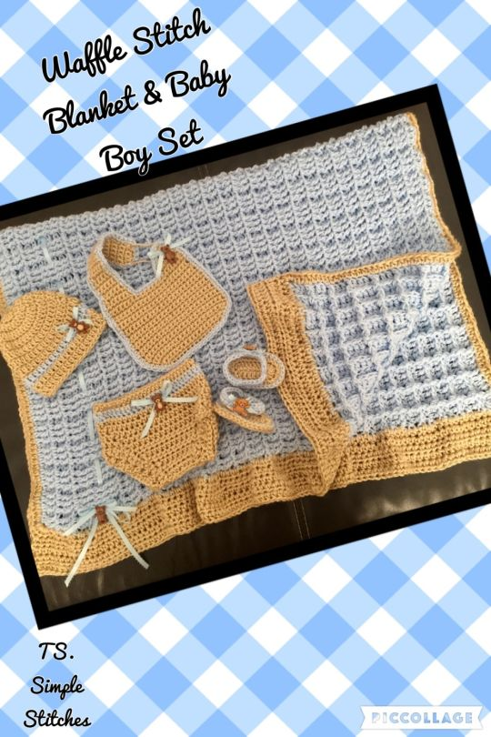 Baby Boy Bear Set