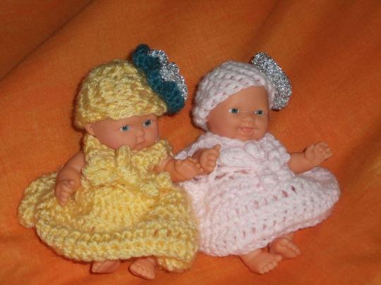 3 inch crochet dolls