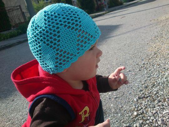 Boys´ spring cap