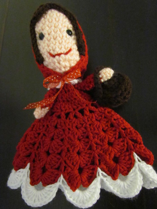 Little Red Riding Hood Lovey