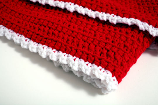 Cherry Red Fall/Winter Ladies Scarf