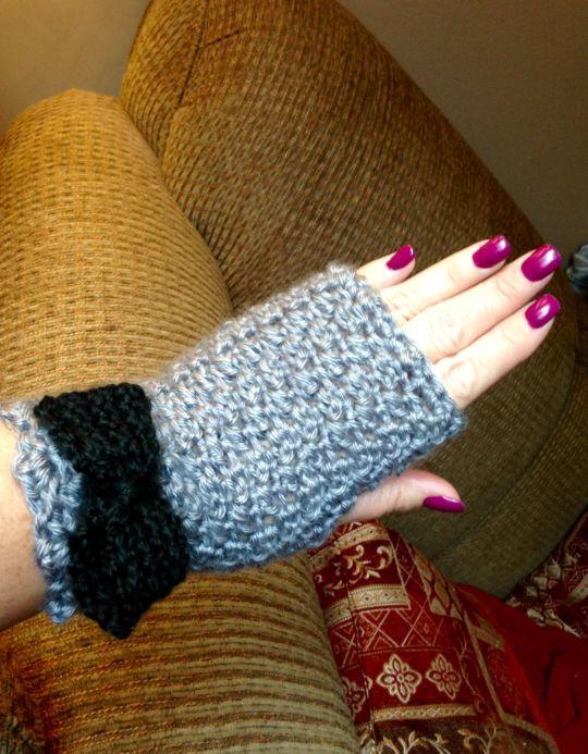 Fingerless gloves for me!!!