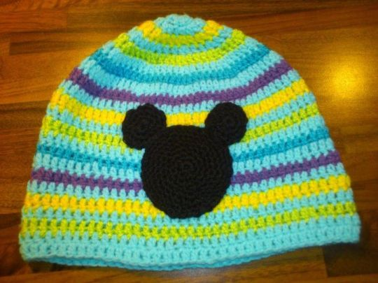 Mickey themed beanie