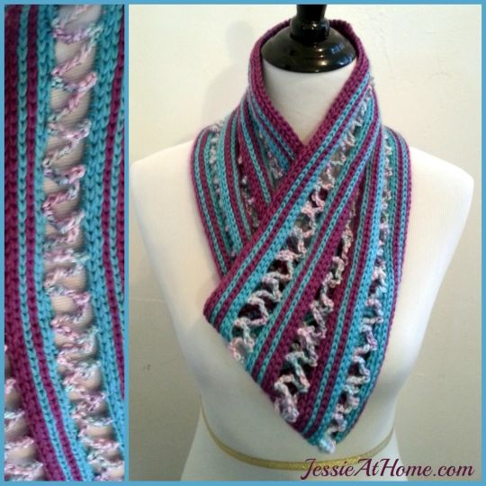 Candy Ribbons Cowl