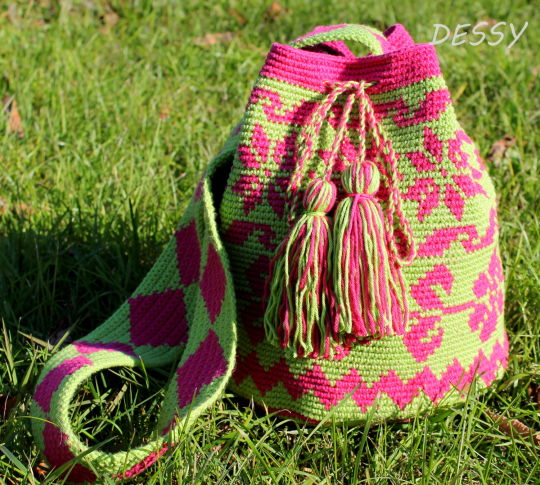 My first Mochilla bag