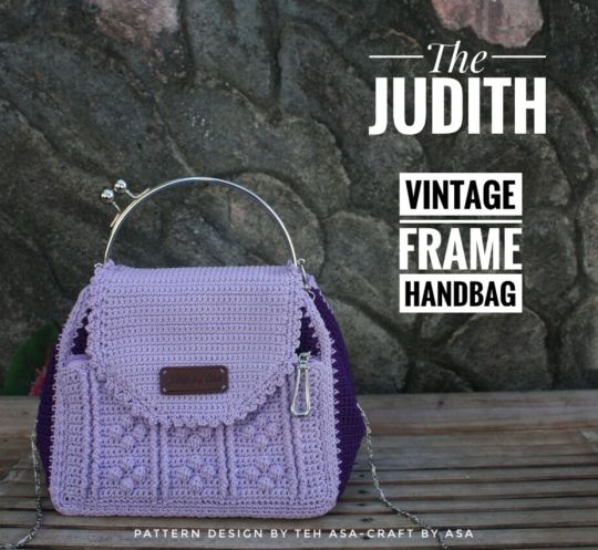 The Judith, Vintage Frame Handbag