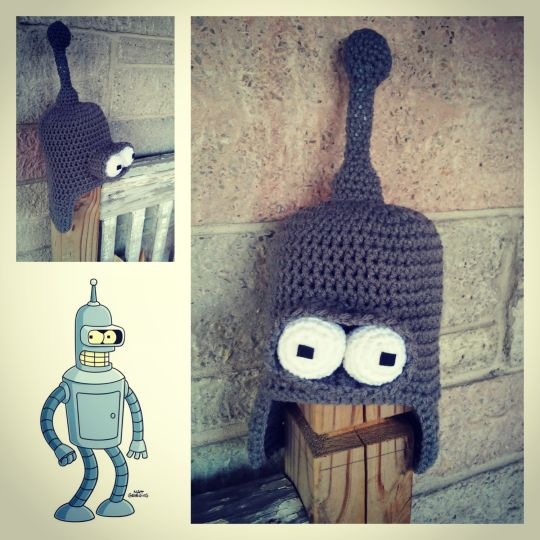 Bender from Futurama Hat