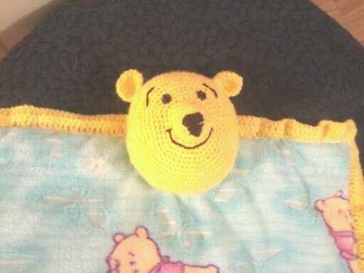 Winnie the Pooh Lovey blanket