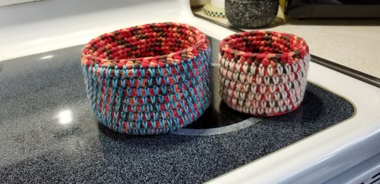Mosaic Baskets