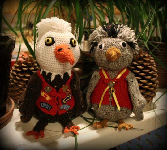 Cub Scout birds