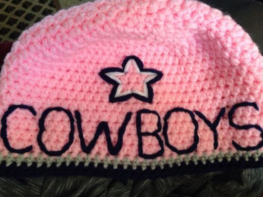 Pink Dallas Cowboys
