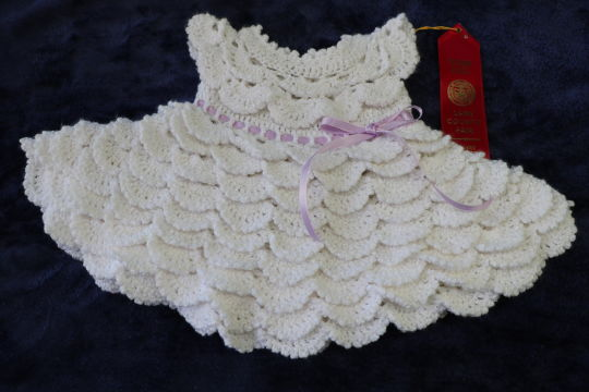Layered Ruffles Baby Dress Crochet Creation By Doneldas Creations
