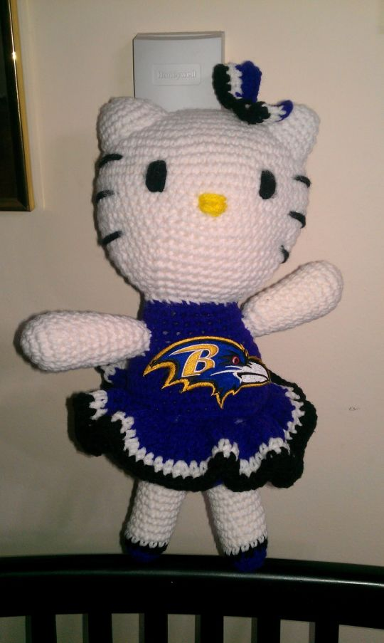 My Baltimore Ravens Hello Kitty