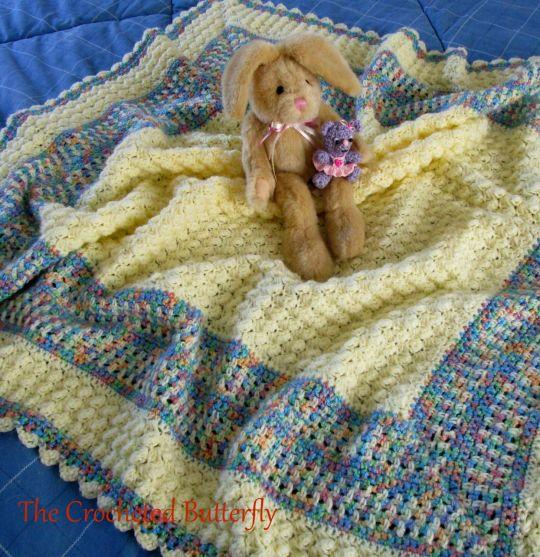 Bubbles Baby Blanket Pattern